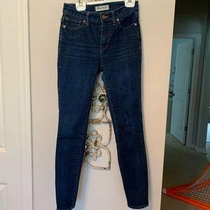 "9"" high-rise skinny jeans"